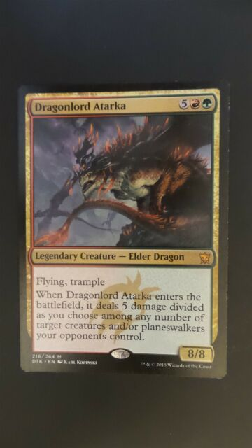 ATARKA/'S COMMAND Dragons Of Tarkir DTK Magic MTG MINT CARD