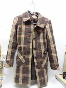 Rag Cie Wool Sz Jacket Small Juniors poly Multicolored Long American twAIxqB