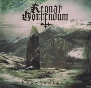 REGNAT-HORRENDUM-HEATHENLAND-2018-Russian-Black-Metal-CD-Jewel-Case-GIFT