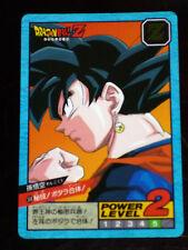 DRAGON BALL Z DBZ SUPER BATTLE PART 13 CARD HIDDEN PRISM CARTE 538 JAPAN 1995 NM