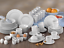 Ritmo Kombiservice Geschirrset  8 Personen Porzellan Creatable 17045 GB