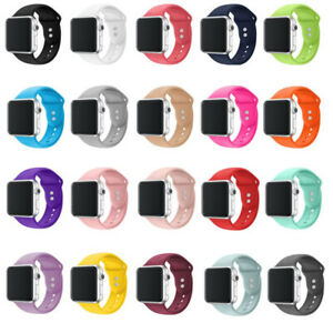 Pour-Apple-Watch-iWatch-serie-4-3-bracelet-en-silicone-montre-de-sport-38-42MM