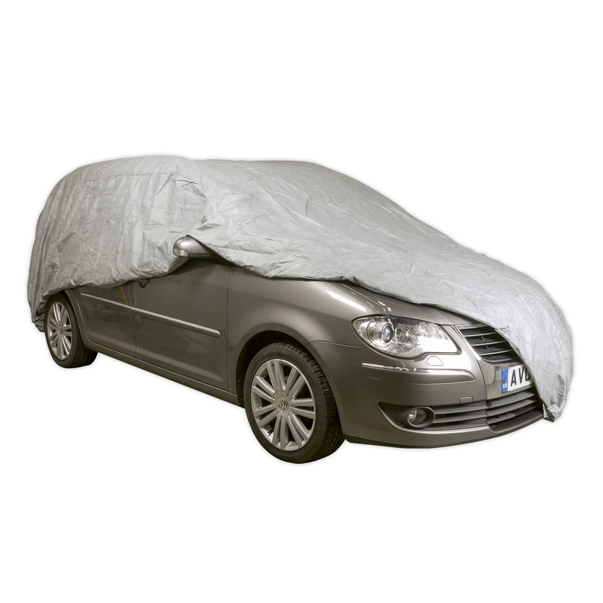 All Seasons Car Cover 3-Layer - Extra Extra Large   SEALEY SCCXXL by Sealey   Ne