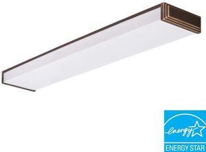 Details About Ceiling Light Black Bronze Fluorescent Rectangle Lamp Fixture Modern Decorative
