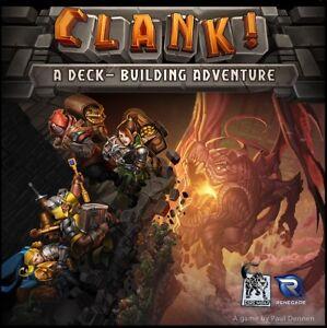 Clank-un-edificio-de-cubierta-Adventure-Juego-de-mesa-New-por-renegado-English