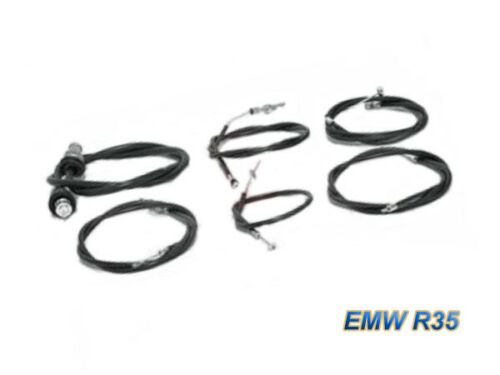 - MOTORRAD BK, BMW Bowdenzugsatz EMW R35 schwarz komplett 6-teilig TOP NEU