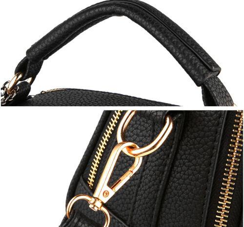Women/'s Handbag Leather Shoulder Party Bag Ladies Satchel Tote Purse Bag  New