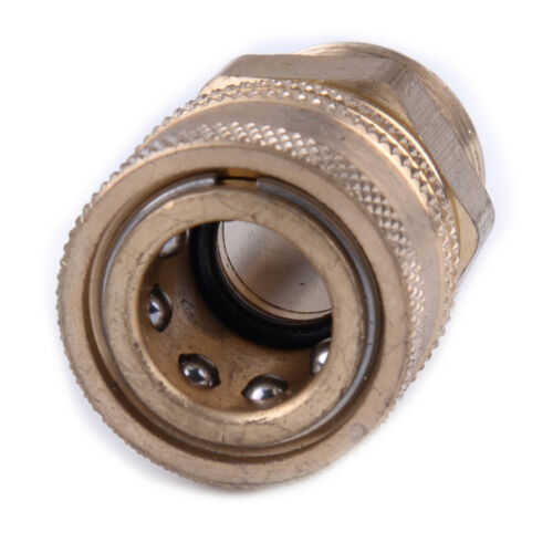 """M22 Quick Release Connector to 1//4/"""" Male Adapter Coupling for Pressure Washer"""