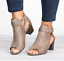 Roman-Womens-Open-Toe-Mid-Block-Heels-Ankle-Strap-Casual-Buckle-Mule-Sandal-Shoe thumbnail 5