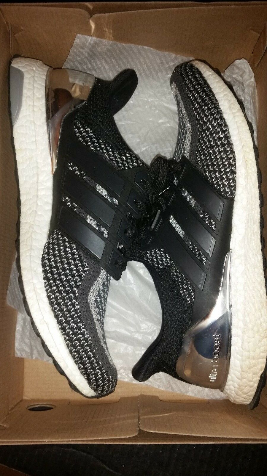 PREOWNED Adidas Ultra Boost ultraboost Silver medal LTD limited 2.0 1.0 3.0 4.0