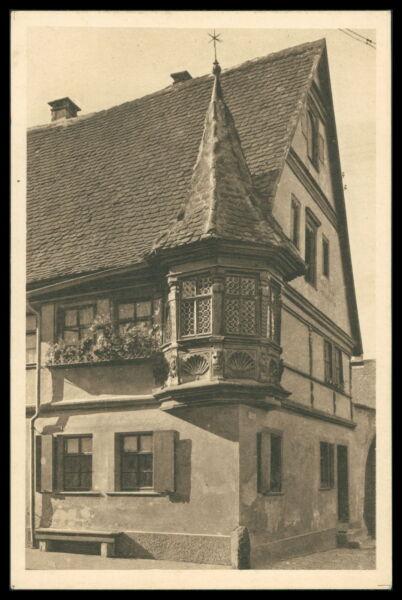 Architektur Ak Rothenburg Ob Der Tauber Alte Ansichtskarte Foto-ak Postcard Cx48 Deutschland