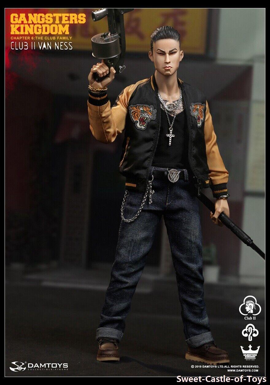 1 6 Dam Toys Damtoys Action Figure Gangsters Kingdom GK017 Club 2 Van Ness