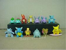 13pcs/Set Pokemon Pikachu figuras Figurilla Modelo 5cm