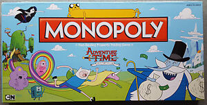 Monopoly-Collector-039-s-Edition-034-Adventure-Time-034-Parker-Brothers