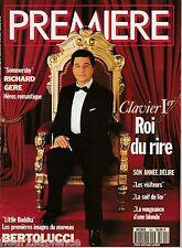 Première magazine du cinéma N°194 Mai 1993 Christian Clavier Richard Gere
