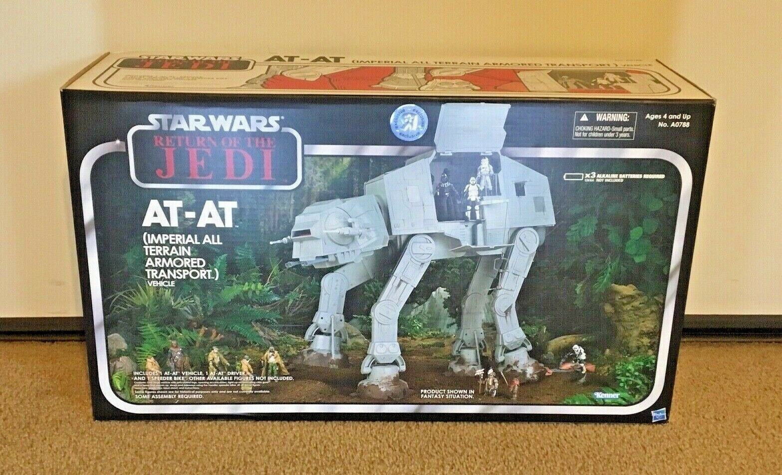 Star Wars Vintage Collection redJ AT-AT - Toys R Us Exclusive 2012