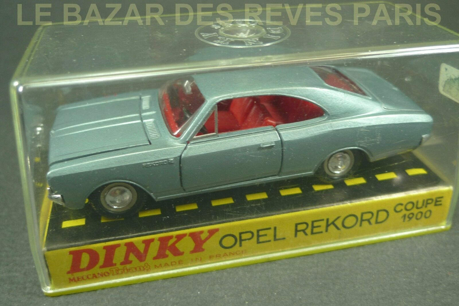 DINKY TOYS FRANCE. OPEL REKORD coupé 1900.+ Boite.  REF  1405.