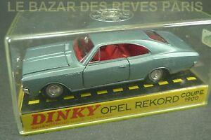Dinky Toys France. Opel Rekord Coupé 1900. Boite. Ref: 1405.