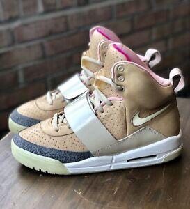 flexible Judías verdes Cortar  Nike Air Yeezy 1 Net Tan 9.5 Red October Blink Kanye West Vnds ...
