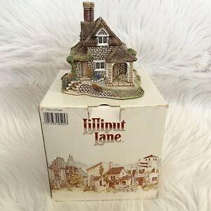 1990-firmado-Lilliput-Lane-Dial-Cottage-con-escritura-Y-Caja