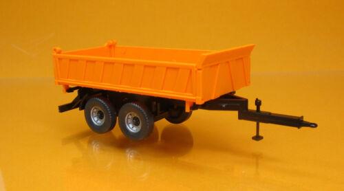Wiking 067804 tres páginas tráiler de almacenamiento Orange scale 1 87 nuevo embalaje original