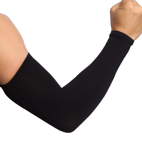1 Pair Arm Sleeves Cover Cycling Outdoor Sport UV Sun Protector Cooling Cover US