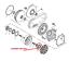Ruota-Libera-Per-Il-Freno-Motore-TGB-Blade-525-425-450-550-Target-924545 miniatura 2