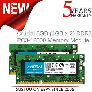 Crucial-8-GB-4-GBx2-DDR3L-1600-MT-s-PC3L-12800-SODIM-204-Pin-Memory-Module