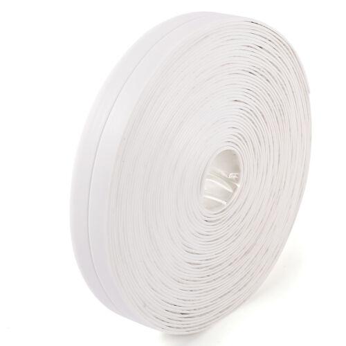 Cinta adhesiva resistente al agua para Bañera Cocina fregadero 22mmx10m Blanco