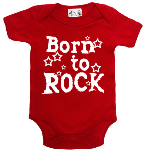 "Dirty Fingers /"" Born To Rock /"" Bambino Body Musica Heavy Metal Vestiti"