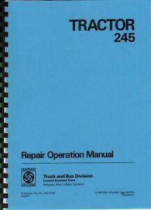 leyland 245 tractor workshop manual ebay rh ebay co uk leyland 245 tractor workshop manual Case IH Tractors