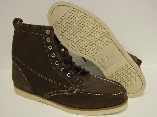 NEW Mens Sz 10 SEBAGO Fairhaven B20656 DOCKSIDES Brown Rough-Out Boots Shoes