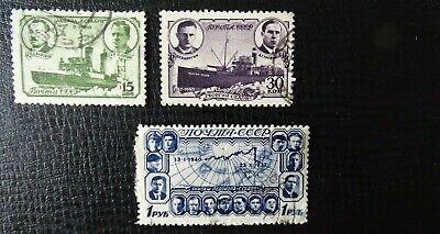 Unvollständig In Den Spezifikationen VervollstäNdigen Polardrift Gestempelt Unparteiisch Sowjetunion Mi 741-744 Sc 772-775