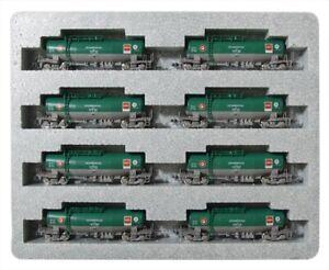 10-1167-N-Scale-Taki-1000-Nihonsekiyuyuso-Color-ENEOS-Eco-Rail-Mark-B-8-Set-Kato