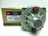 Original Factory Jbl / Selenium D250-x Phenolic Compression Driver 8 Ohms