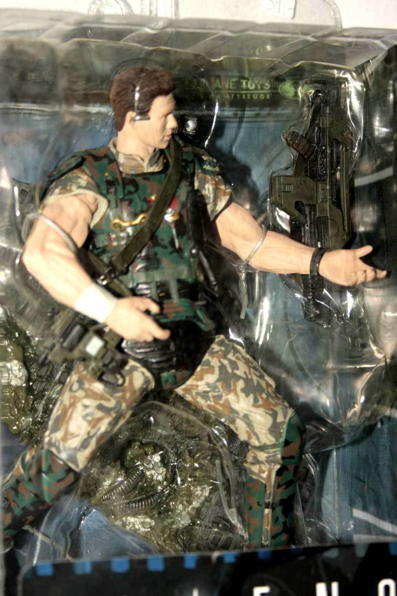 McFarlane Aliens Colonial Colonial Colonial Marine CPL Hicks MOVIE MANIACS FIGURE NUOVA GD1 36733 cc1012