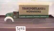 Brekina 1/87 4218 Magirus Rundhauber LKW Pritsche Transportlader AG OVP #3106