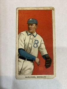 1909-11 Piedmont Cigarettes Pryor Mcelveen T206 Vintage Baseball Card