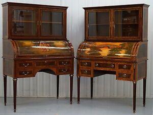 Par-de-frances-Luis-XVI-neoclasico-Molduras-Libreria-escritorios-Unas-Martin