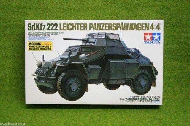 TAMIYA Sd. Kfz. 222 Leichter Panzerspahwagen 1/35 échelle 35270 Kit