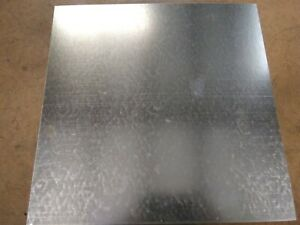 26ga Galvanized Sheet Metal 12x12 Patch Plate Arts Crafts 1pc Ebay