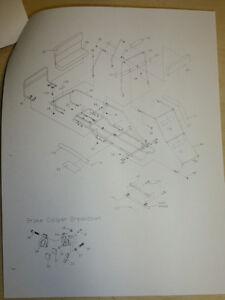 MANCO MODEL 475-11 475-112 GO KART PARTS LIST OPERATORS
