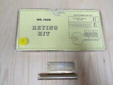 Weiser 1420 Pinning Kit Locksmith Service Kit With Tools 1