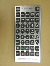 "Sentry Jumbo Universal Remote TV/VCR 11"" x 5"" RMC-10, Batteries Not Included"