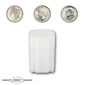 5 Square Coin Tubes 1oz American Silver Dollars /& Silver-Copper Rounds Storage