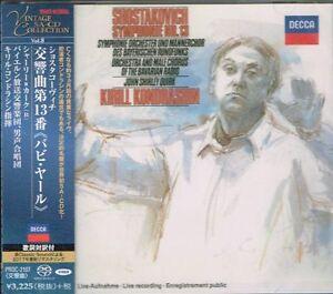 Shostakovich-Symphony-No-13-Kirill-Kondrashin-Japan-SACD-w-OBI-NEW-SEALED