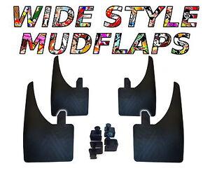 4-X-Nuevo-Calidad-amplia-mudflaps-para-adaptarse-a-Opel-Vectra-C-de-ajuste-universal