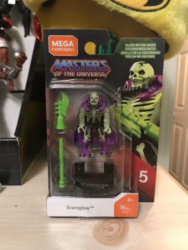 Mega CONSTRUX scareglow Series 5 MOTU Masters of the Universe