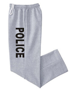 Open-bottom-sweatpants-Police-design-no-cuff-cuffless-sweats-track-pants