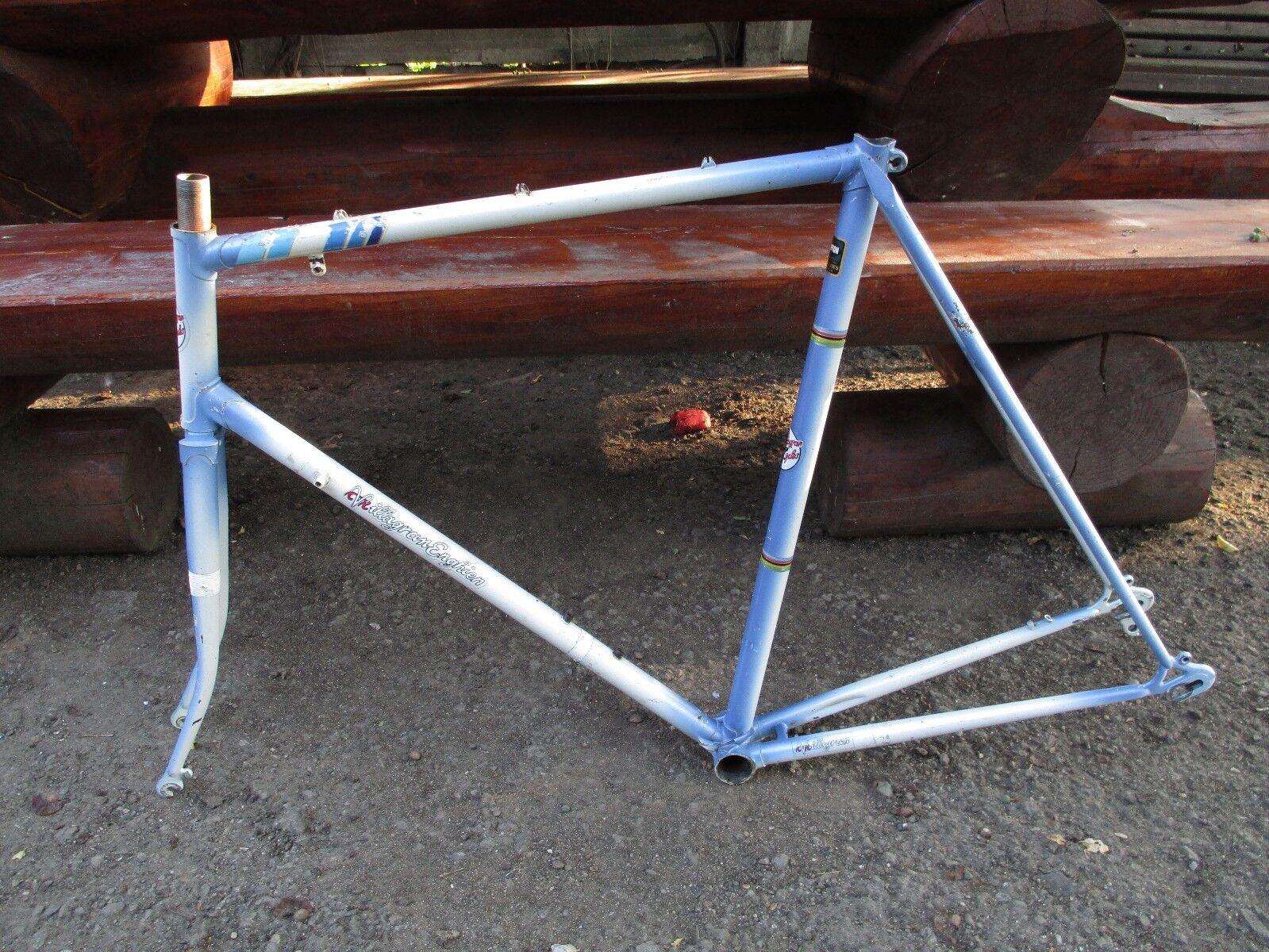 Vintage frame Vilagram Enghien - Dropout Shimano - Tanghe tubular